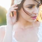 bridal portrait at golden gardens in seattle, wa
