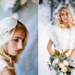 seattle winter wedding snow bride film photography