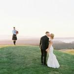 Golf Club at Newcastle Wedding on film