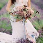woodinville lavender farm wedding photos on film