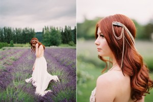 Woodinville Lavender Farm Wedding on Film