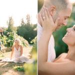 Seattle Engagement Photos on film
