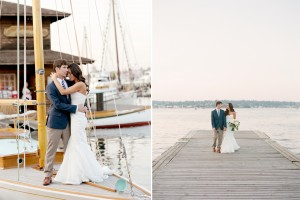 Center For wooden boats Wedding Seattle Lake union