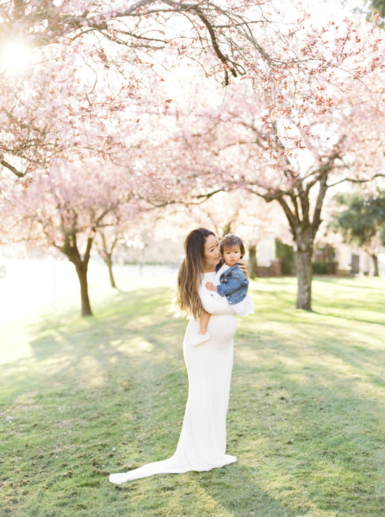 seattle maternity photographer spring film